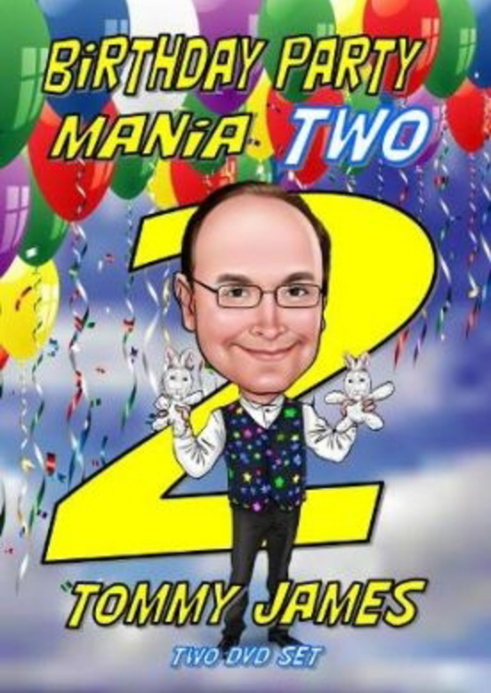 Image result for Birthday Party Mania 2 by Tommy James