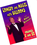 Comedy and Magic With Balloons Volumes 1 and 2