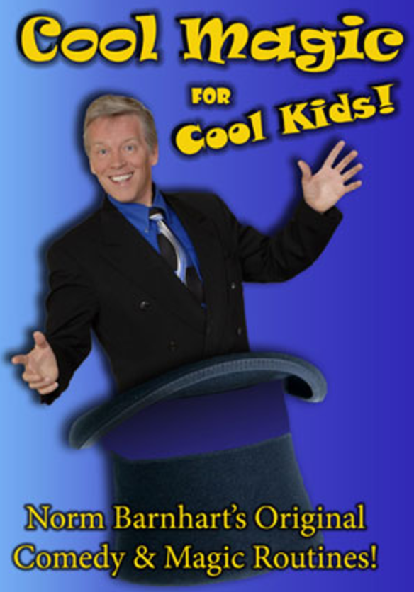 Cool Magic For Cool Kids! DVD
