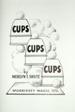 Cups Cups Cups - Booklet