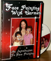 Face Painting with Carmen DVD - An Introduction to Face Painting