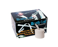 Mouth Coil Roll - White
