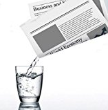 Liquid in Newspaper