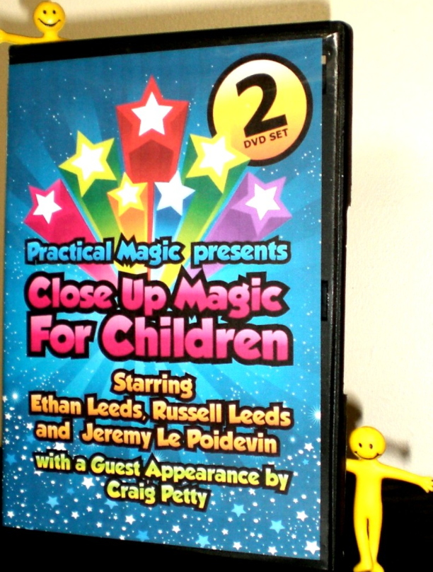 Close Up Magic for Children - Double DVD