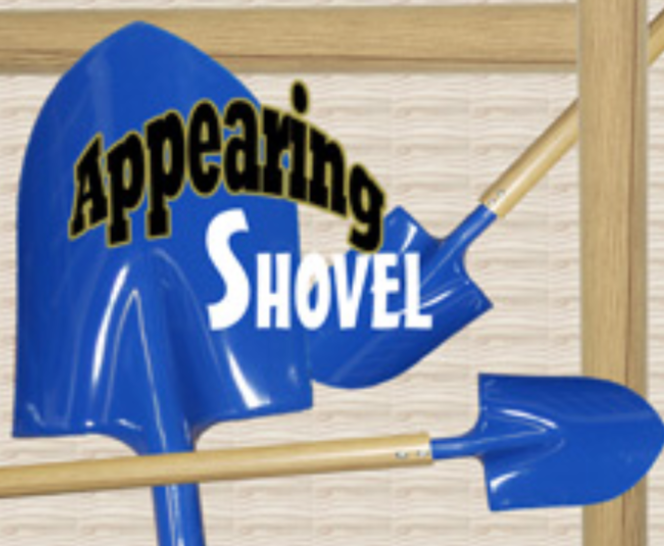 Appearing Shovel