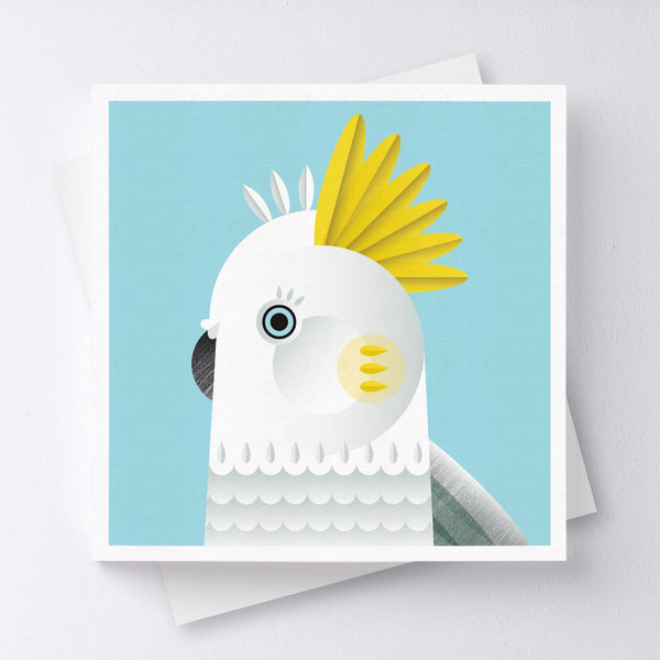 Hello Cocky Greeting Card