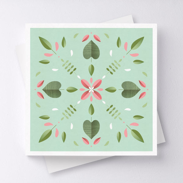Kaleidoscope Greeting Card