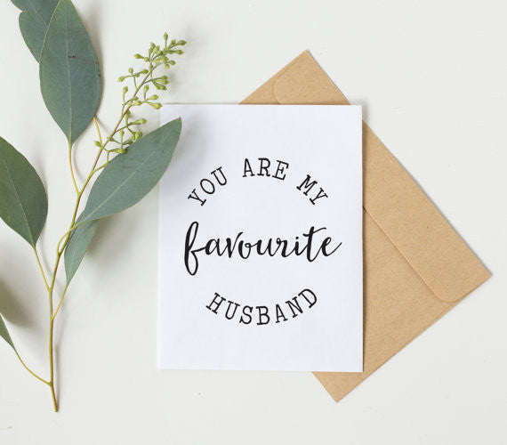 You Are My Favourite Husband