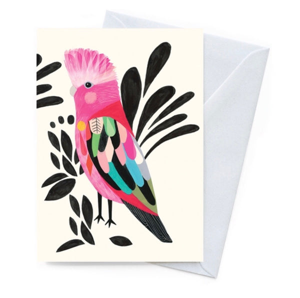 Greeting Card - Galah
