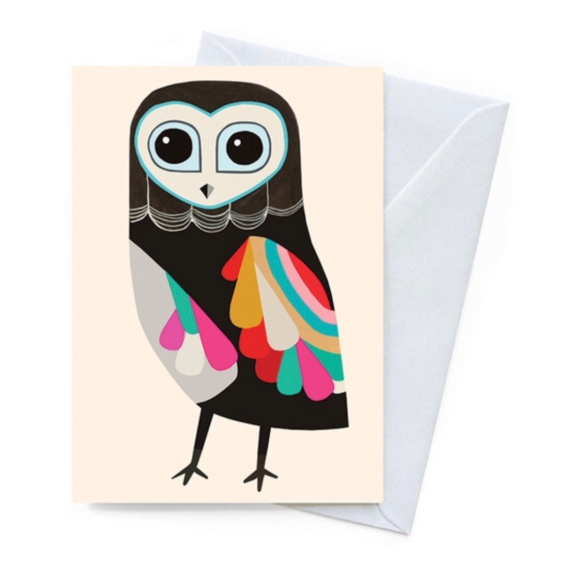 Greeting Card - Luna Owl