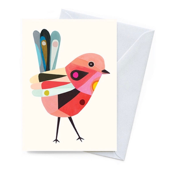 Greeting Card - Red Fairy Wren