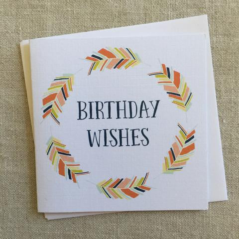 Petit Birthday Wishes Card