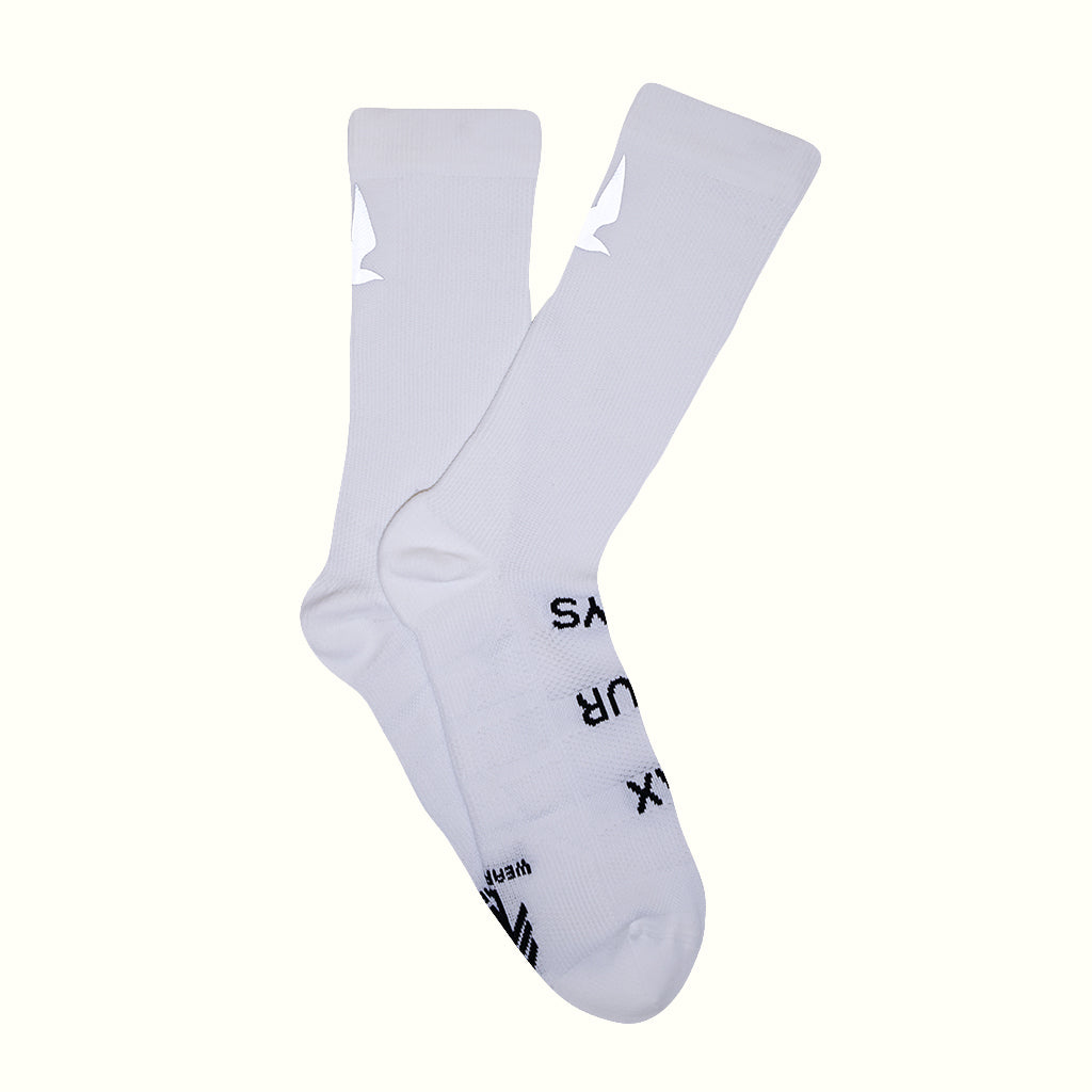 MAX YOUR DAYS SOCKS - WHITE