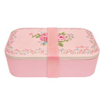 GreenGate Bamboo Lunch Box Marley Pale Pink H 6,5 cm W 12,8 cm L 19,8 cm