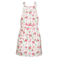 GreenGate Cotton Child Apron Meryl White W 52 cm, L 65 cm