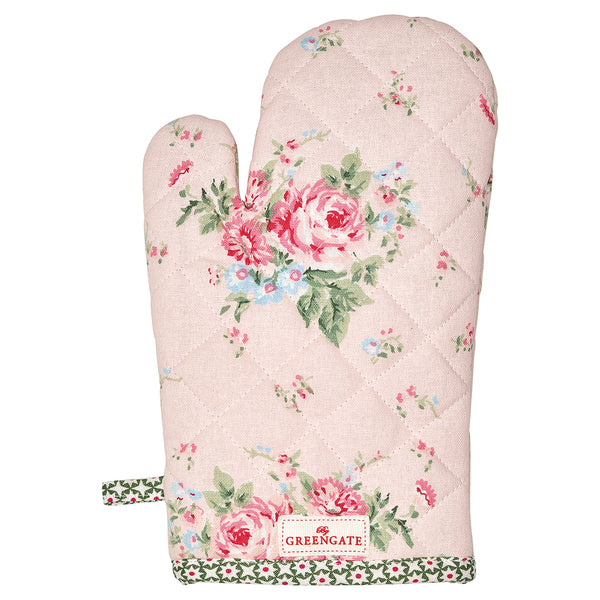 GreenGate Cotton Grill Glove Marley Pale Pink L 28 cm