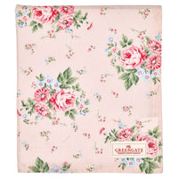 GreenGate Cotton Tablecloth Marley Pale Pink 150 x 150 cm