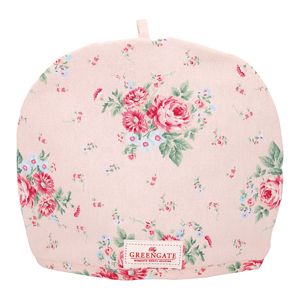 GreenGate Cotton Tea Cosy Marley Pale Pink H 27 cm