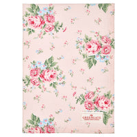 GreenGate Cotton Tea Towel Marley Pale Pink 50 x 70 cm