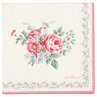 GreenGate Paper Napkin Marley Pale Pink Large 20 Pieces 33 x 33 cm
