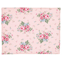 GreenGate Cotton Quilted Placemat Marley Pale Pink 35 x 45 cm