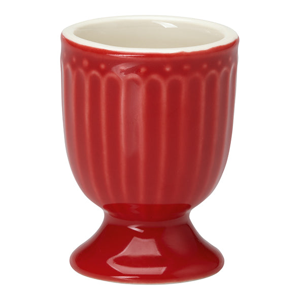 GreenGate Stoneware Egg Cup Alice Red H 6,5 cm