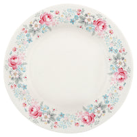 GreenGate Stoneware Plate Marie Pale Grey D 20.5 cm