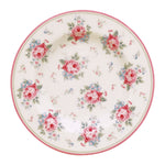 GreenGate Stoneware Small Plate Marley White D 15 cm