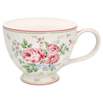 GreenGate Stoneware Teacup Marley White H 9 cm