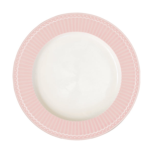 GreenGate Stoneware Plate Alice Pale Pink D 23.5 cm