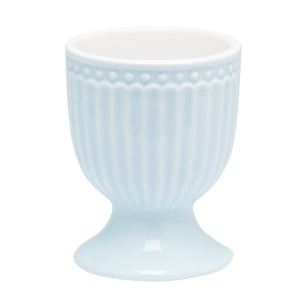 GreenGate Stoneware Egg Cup Alice Pale Blue H 6.5 cm