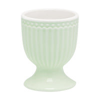 GreenGate Stoneware Egg Cup Alice Pale Green H 6.5 cm