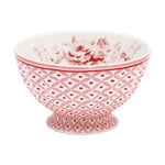 GreenGate Stoneware French Bowl Abelone Raspberry Medium D 10 cm