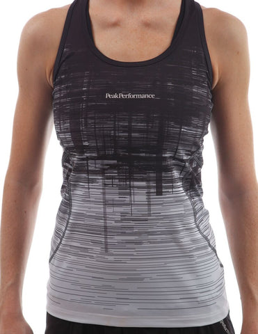 peak performance cappis singlet black white