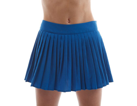 lacoste pleated tennis skirt blue