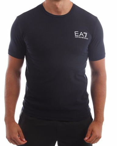 emporio armani ea7 mens train core tshirt navy fibre 15