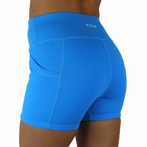 KIAVA Deep Pocket Shorts Blue