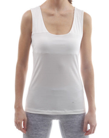 j.lindeberg callie tech sports tank white