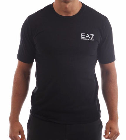 emporio armani ea7 mens train core tshirt black fibre 15