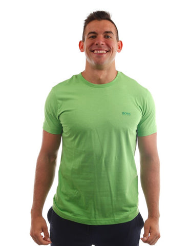 hugo boss tee green