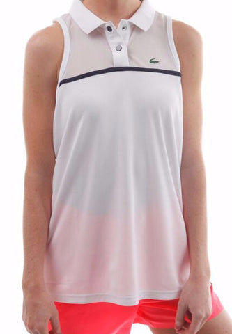 lacoste sleeveless polo tennis singlet