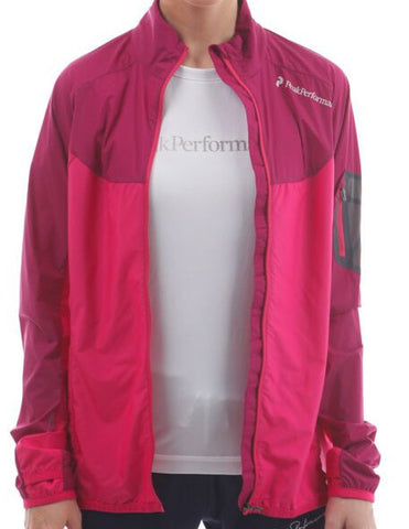 peak performance womens focal jacket pink