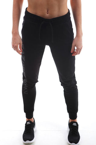 emporio armani ea7 train fleece pant black