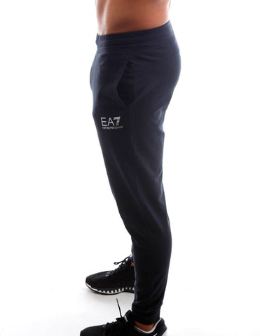 Emporio armani ea7 jersey sweat pants side