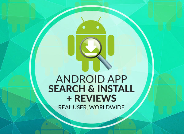 Android App Search + Reviews