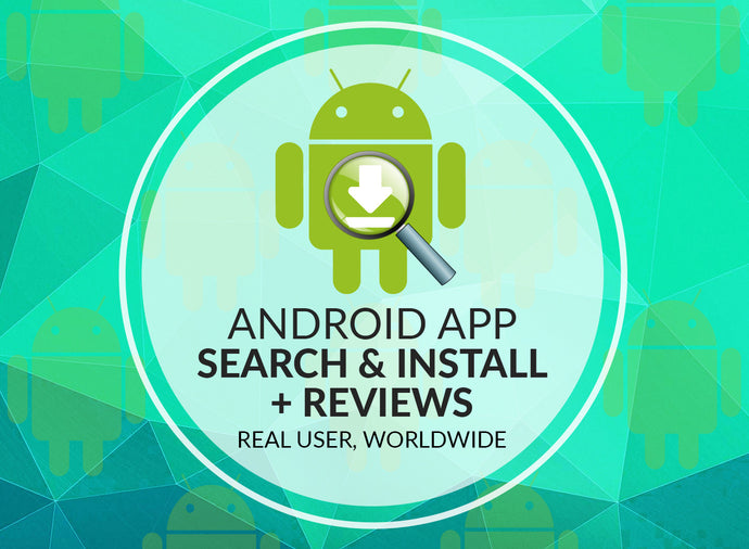 Android App Search + Installs + Reviews
