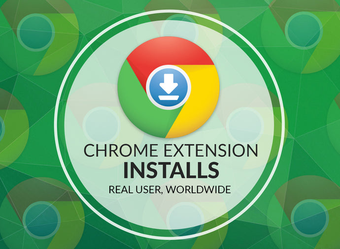 Buy Chrome Extension Installs