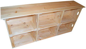 Wooden Crate Sideboard