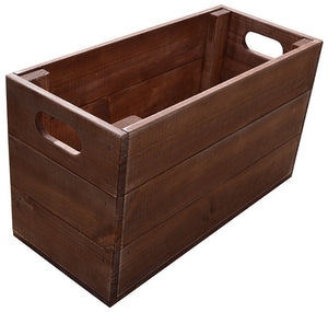 Narrow Tall Crate (vintage)