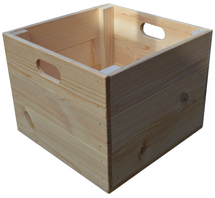 Tall Square Crate (natural)
